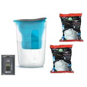 Brita Fill & Enjoy Fun modrá + 2 ks Filter Logic FL-402H