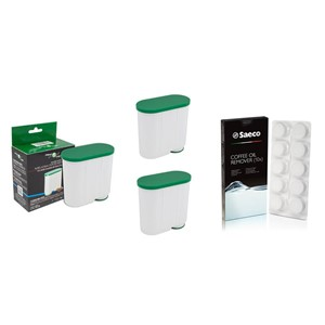 Filter Logic CFL-903B filter 3 ks za Saeco/Philips AquaClean CA6903 + Saeco CA6704/99 čistiace tablety